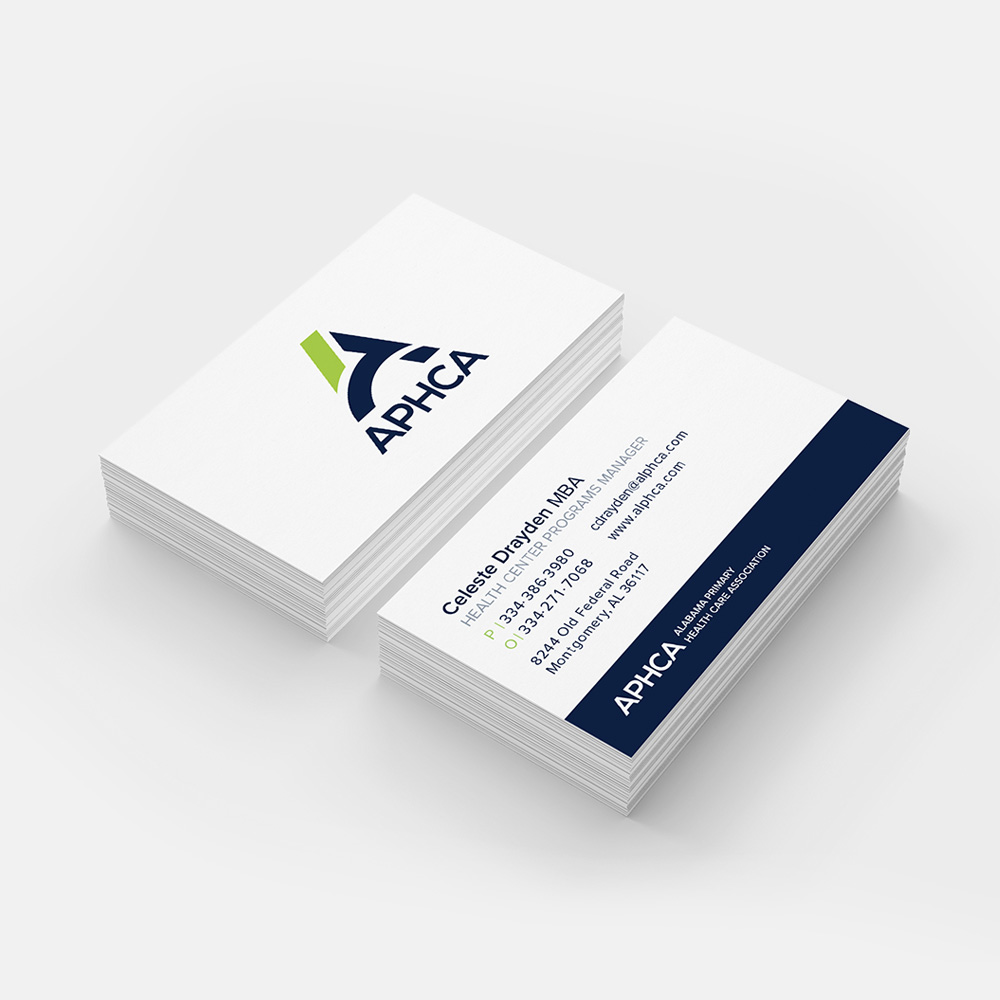 APHCA Business Cards