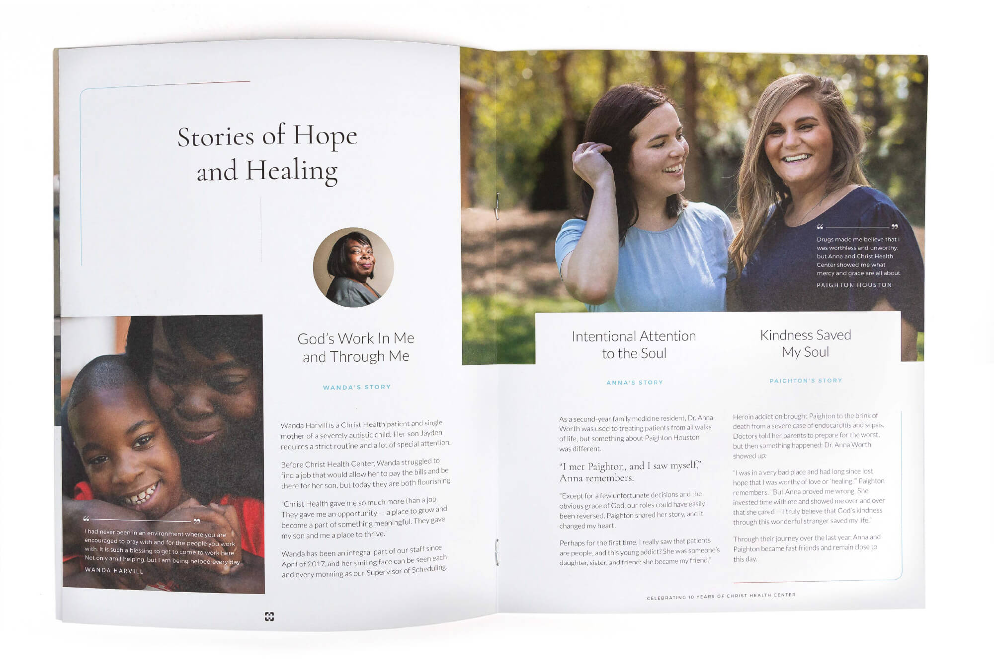 Christ Health Centers Booklet